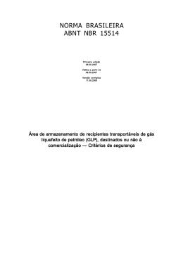 NORMA BRASILEIRA ABNT NBR 15514