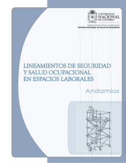 andamios manual - Universidad Nacional de Colombia