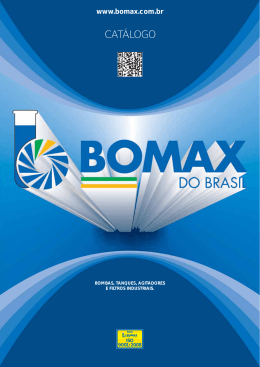 Catalogo Bomax do Brasil