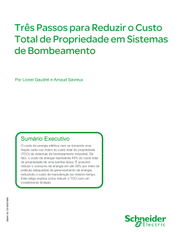 Sumário Executivo - Schneider Electric