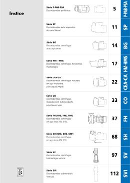 Catálogo Completo LOWARA