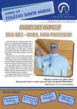 Habemus PaPam! - Colégio Santa Maria