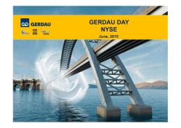 2015.05 - GERDAU DAY NYSE