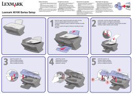 Lexmark X6100 Series Setup