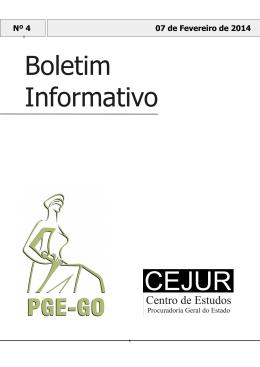 Boletim Informativo - Sistema de Gerenciamento de Conteúdo