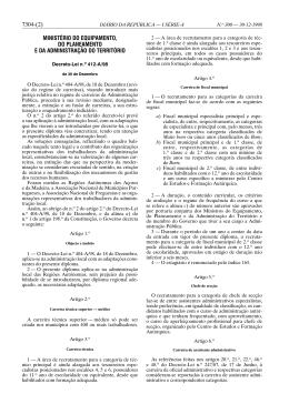 Decreto-Lei n.° 412-A/98 de 30 de Dezembro