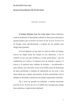RE 596 152 - Voto vista - Supremo Tribunal Federal