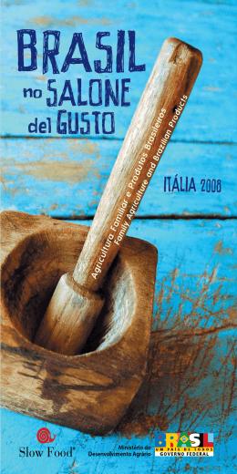 Brasil no Salone del Gusto - Agricultura Familiar