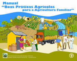 """""""Boas Práticas Agrícolas para a Agricultura Familiar""""."""