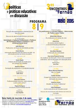 maio 2o15 - Escola Secundária Fernão Mendes Pinto