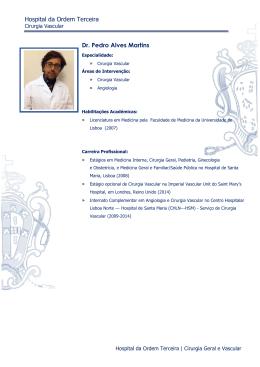 Hospital da Ordem Terceira Dr. Pedro Alves Martins