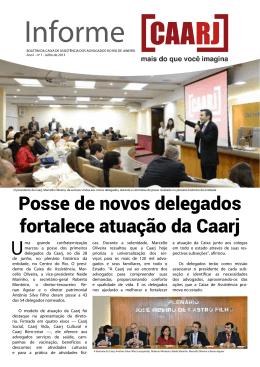 Posse de novos delegados fortalece atuação da Caarj