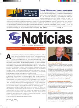 ABP Notícias 33 – Junho 2007