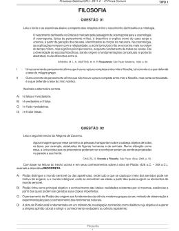 1ªfase-2°dia-TIPO 1.pmd - Diretoria de Processos Seletivos