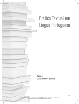 Prática Textual em Língua Portuguesa