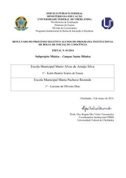 Escola Municipal Mario Alves de Araújo Silva Escola