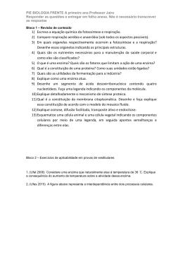 biologia 2 - Colégio Guilherme de Almeida
