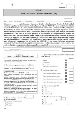 FV1 Inquérito