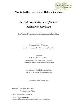 Volltext in PDF - Martin-Luther-Universität Halle