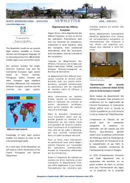 NEWSLETTER - BBCA LEGAL