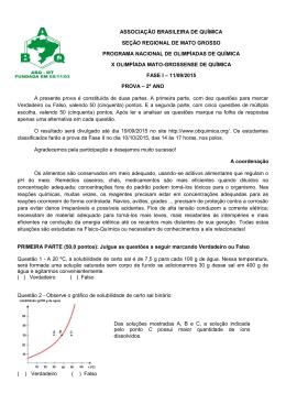 associação brasileira de química seção regional de mato grosso