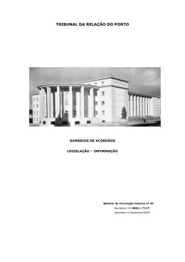 Boletim n.º 35 - Tribunal da Relação do Porto