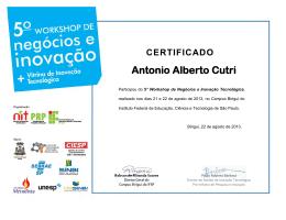 CERTIFICADO Antonio Alberto Cutri