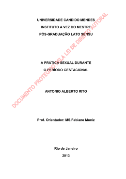 antonio alberto rito - AVM Faculdade Integrada