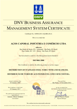 dnvbusiness assurance management system