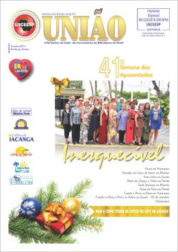 JORNAL USCEESP Edição: Dezembro/2013 FAZER DOWNLOAD