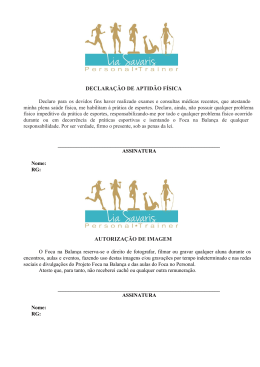 DECLARAÇÃO DE APTIDÃO FÍSICA