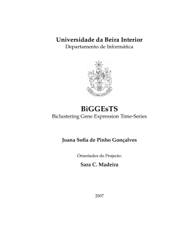 BiGGEsTS - ALGOS Group