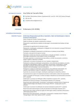 Ana Sofia de Carvalho Mota Enfermeira (2-E-45389)