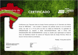 Thacyana Karla de Araújo Ferreira