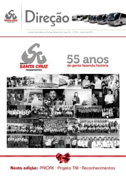 Edição Maio/junho - Viação Santa Cruz