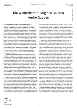 Die Wiederherstellung des Geistes André Guedes