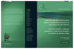 Political Leadership and Economic Reform
