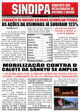 AS AÇÕES DA USIMINAS JÁ SUBIRAM 123%