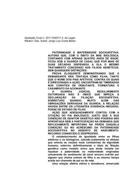 Apelação Cível n. 2011.034517-3, de Lages Relator - Arpen-RS