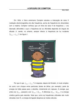 A DIFUSÃO DE COMPTON