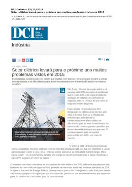 DCI Online - Instituto Acende Brasil