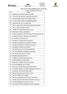 Lista de Bolsistas