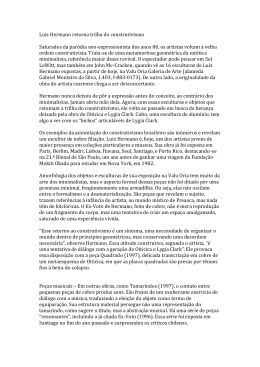 Retorna trilha do construtivismo – Antonio Gonçalves Filho