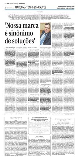 entrevista MARCO ANTONIO GONÇALVES