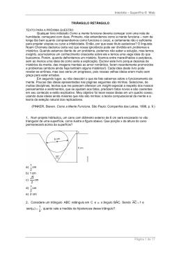 Solução - Triângulos Retângulos