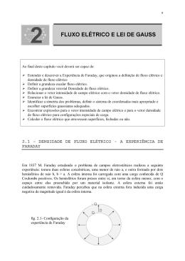 FLUXO ELÉTRlCO E LEl DE GAUSS 2 FLUXO ELÉTRlCO E LEl DE