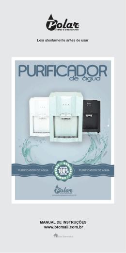 Manual Purificador de Água