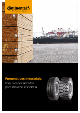 Brochura de Produto - Continental Commercial Specialty Tires