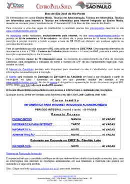 Curso Inédito INFORMÁTICA PARA INTERNET INTEGRADO AO