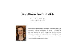 Danieli Aparecida Pereira Reis